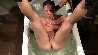 Bathing Time For The Gay Slut