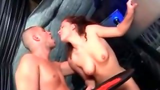 Busty Teen Brunette Fucking And Squirting