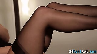 Babe, Cumshot, Hardcore, Fetish, Hd, Foot Fetish, Stockings