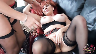 Big Boobs Lingerie, Hairy In Stockings, Hairy Pussy Mature, Finger Lesbian, Big Tits In Stockings, Mature Couple And, Big Tits Hairy Lesbian, Red Hair Stockings