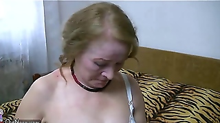 Lesbian Mature And Young Lesbian, Threesome Fucking