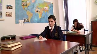 Ann Marie La Sante And Mira Sunset Are Two Student
