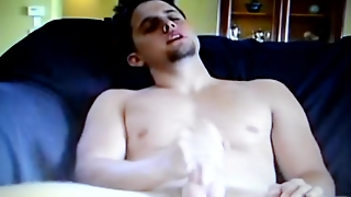Masturbation, Big Dick, Solo Male, Sexy, Sofa, Hd