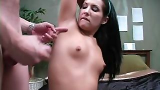The Smell Of Her Sweaty Armpits Get Her All Hot And Horny