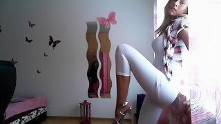 Table Dance, Amateur Solas, Alemana Rubia, Web Cam Stripteases, Recto