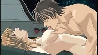 Passionate Sex On A Spaceship With A Hentai Girl