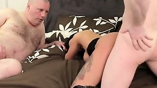Cfnm Doms Shows What A Real Cock Does
