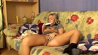 Blonde With & Vibrator