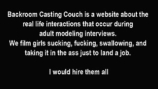 Real Job Or Porn Job For Summer?
