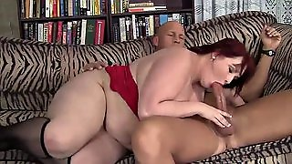 Redheaded Luscious Allure Eliza Drains A Big Dick