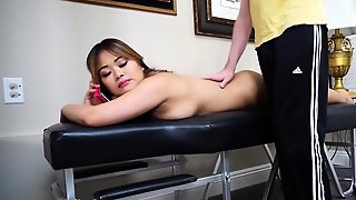 Asian Wife Cuckold And Cumshot