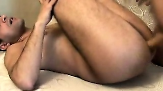 Gay Bears Having Anal On The Couch