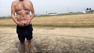 Flashing At The Highway