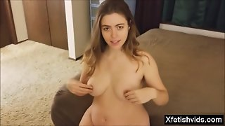 Hairy Pregnant Blowjob And Creampie