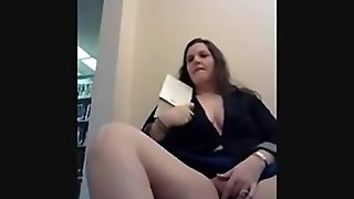 Masturbating At The Library