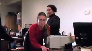 Office Group Spanking