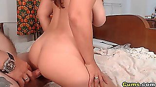 Busty Wife Gives Awesome Head