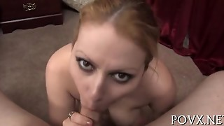 Hairy Pussy Receives Cumshots