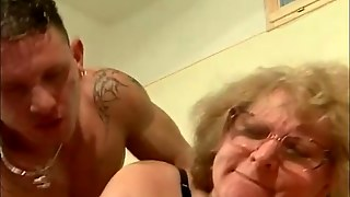 Mature Blond Gets Pounded From Above