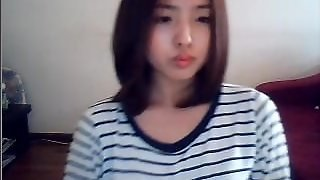 Korean Girl On Web Cam -