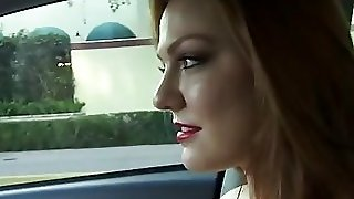Farrah Flower Hitchhikes And Pounded