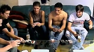 Spit Mouth Gay Teen Boy The Poker Game