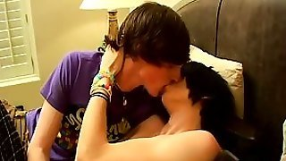 Shaggy Haired Emo Lovers - Jase And Brenden