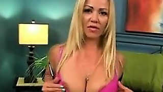Beautiful Mother In Law Teases Her Body