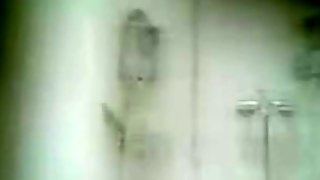 Mature Natural Asian Taking A Shower