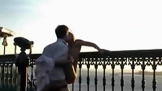 French Girlfriend Crazy Public Fucking