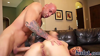Brandy Aniston Is An Anal-Loving Raven-Haired Bint