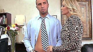 Keiran Lee Checks Julia Ann For