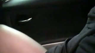Lesbian Sluts Get Naughty In The Car And Gets Her Twat Poked