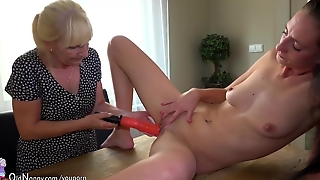 Lesbian, Mature, Horny, Pussy, Boobs, Tits, Lesbians, Matures, Blonde, Step Mom, Old