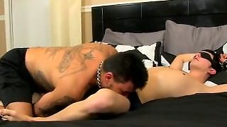 Young Gay Hairy Black Boys Sex Collin Exposes The Cuffs And Blindfold And