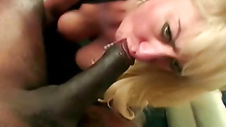 Babe In Black Stockings Fucked By A Man