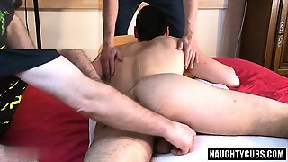 Hot Gay Rimjob And Massage