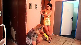 Wicked Female-Dominator Humiliates
