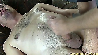 Straight Amateur Dude Getting Fingered