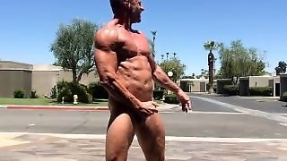 Naked Muscle In Public