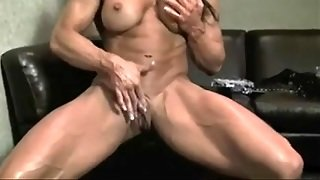 Female, Masturbation, Solo Girl, Big Tits, Brunette, Fetish, Fingering