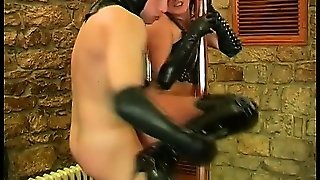 Hot Masked Brunette Siren Sexxi Is Doing It All For Big-Dicked Kamil Klein