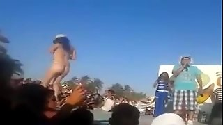 Strip Dancing Naked In Mexico