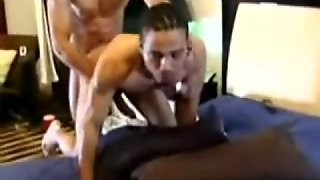 Steamy Anal Banging On A Bed