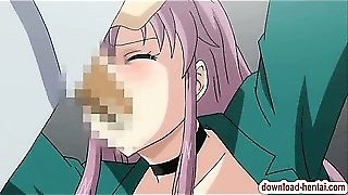 Hentai Chick With Eyes Covered Gets Screwed Badly