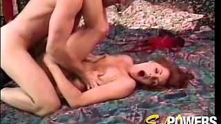 Hairy Box Amateur In His Bed For A Hard Fucking