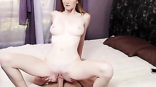Huge Tits Chick Is Opening Her Legs