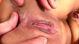 Blonde Sucks After Anal Pounding