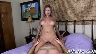 Passionate Mom Gets Her Twat Destroyed With Biggest Cock