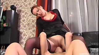 Lesbian Seduction And Kissing Sex